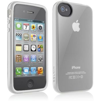 Belkin Apple iPhone 4/4S ochranné pouzdro Essential 013, čiré (F8Z844cwC04)