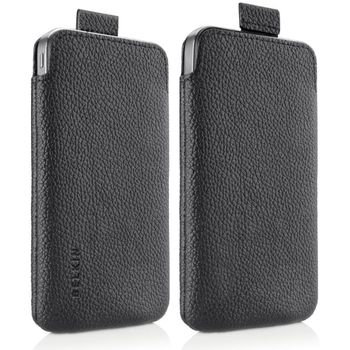 Belkin Apple iPhone 4/4S ochranné pouzdro VervePull 049, černá