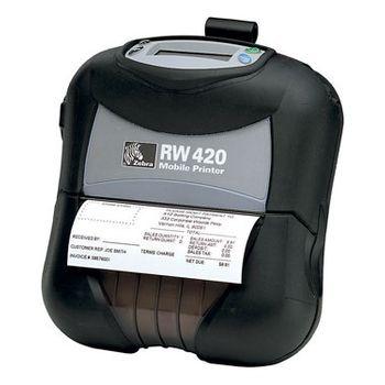 Tiskárna Zebra RW420D, 200DPI, Direct Thermal, 802.11g, CPCL, ZPL, EPL R4D-0UGA000E-00