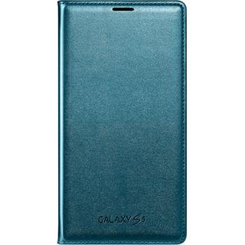 Samsung flipové pouzdro s kapsou EF-WG900BG pro S5 (G900), zelené