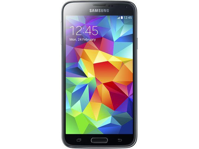 obsah balení Samsung GALAXY S5 G900 Electric Blue + ochranné sklo VMAX na displej