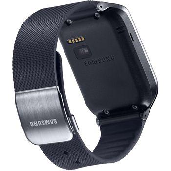 Samsung výměnný pásek ET-SR380XB pro Gear 2/Gear 2 Neo - dlouhý, černý