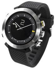 COGITOwatch 2.0 Classic Silver Arrow bluetooth hodinky, černostříbrné - rozbaleno