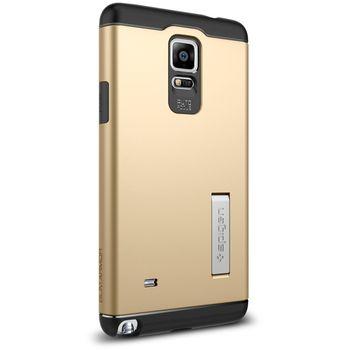 Spigen pevné pouzdro Slim Armor pro Samsung Galaxy Note 4, zlatá