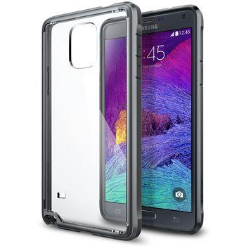 Spigen pouzdro Ultra Hybrid pro Samsung Galaxy Note 4, šedá