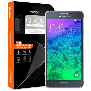 Spigen GLAS.tR Slim prémiové ochranné sklo pro Samsung Galaxy Alpha