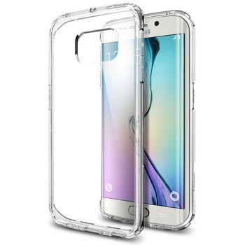 Spigen tenký kryt Ultra Hybrid pro Samsung Galaxy S6 edge, transparentní