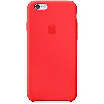 Apple silikonový kryt pro iPhone 6/6S plus, červená
