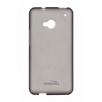 Kisswill TPU ochranný kryt pro Samsung G850 Galaxy Alpha, černý
