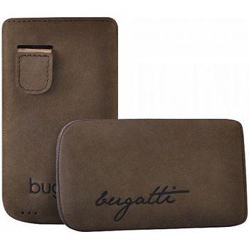 Bugatti Perfect Velvety leather case pro iPhone 4/4S - hnědé, rozbaleno