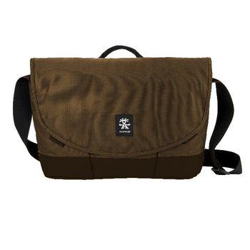 """Crumpler Private Surprise Slim M nylonová taška 13"""" - khaki/hnědá"""
