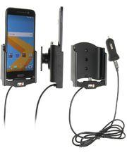 Brodit držák do auta na HTC 10 bez pouzdra, s nabíjením z cig. zapalovače/USB