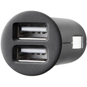 Belkin dual USB nabíječka do auta 5V, 2x1A vč. Apple kabelu (F8Z899cw)
