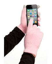 Zimní kapacitní rukavice pro Samsung, iPhone, iPad, Sony, HTC - růžová