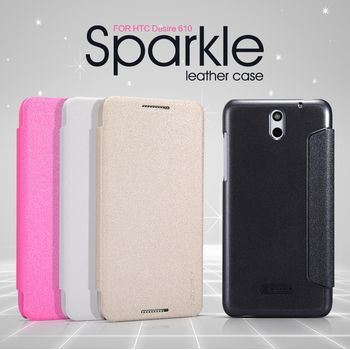 Nillkin Sparkle Folio Pouzdro White pro HTC Desire 610