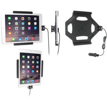 Brodit držák do auta na Apple iPad Air 2/iPad Pro 9.7 bez pouzdra, s nabíjením z cig. zapalovače/USB