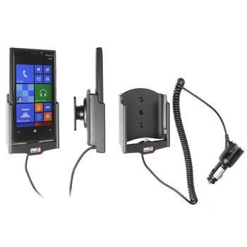 Brodit držák do auta na Nokia Lumia 920 bez pouzdra, s nabíjením z cig. zapalovače