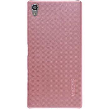 Nillkin zadní kryt Super Frosted pro Sony E6853 Xperia Z5 Premium, růžové zlato